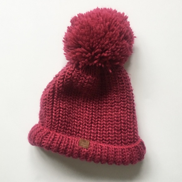 68c0573c4 Roots Canada Large Pom Knitted Hat